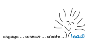 engage, connect, create - lead!